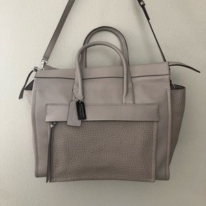 Coach Bleecker Leather Pocket Carryall (F27927)